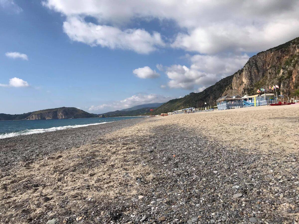 spiaggia del mingardo