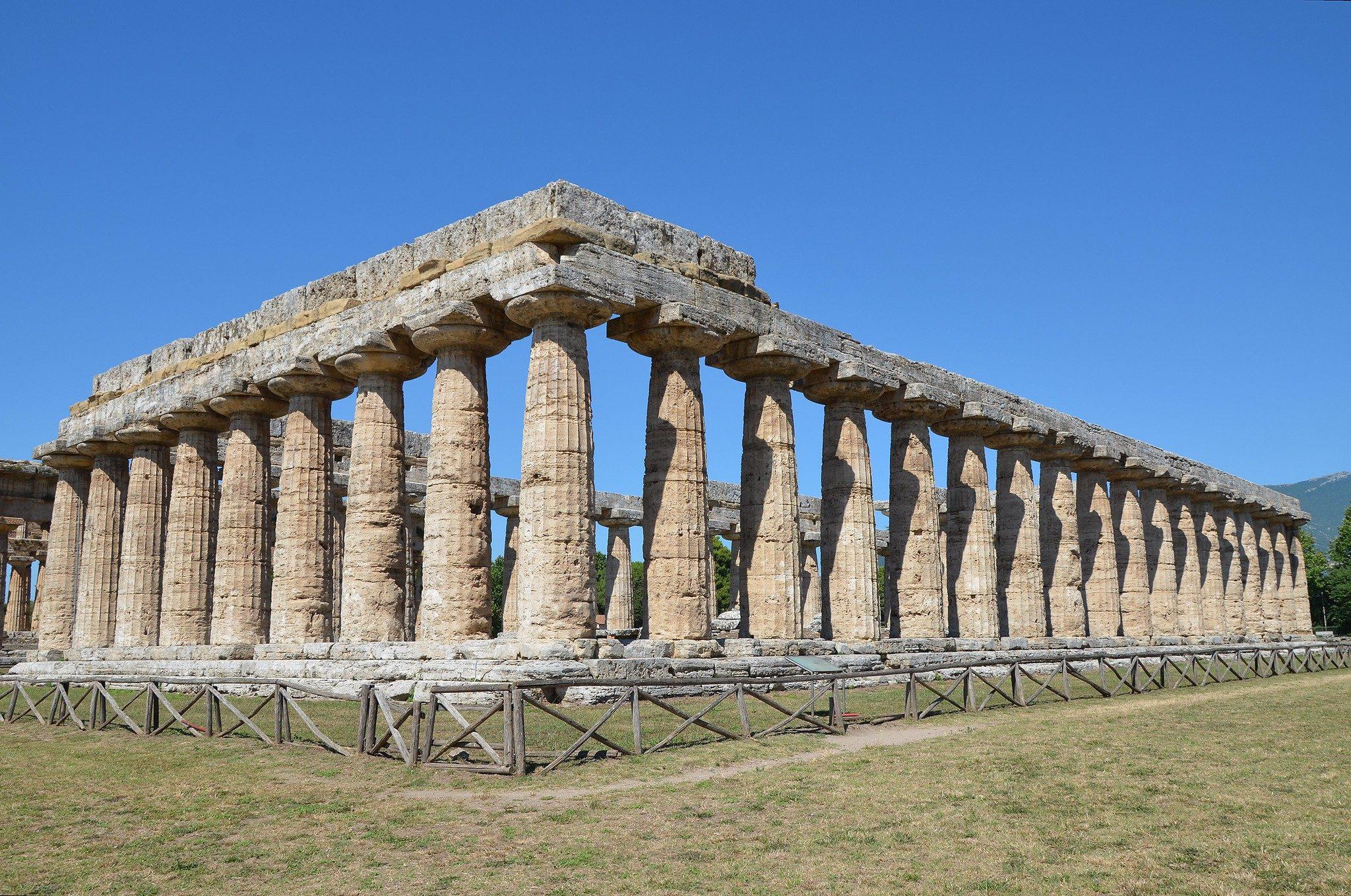 Basilica tempio di hera paestum