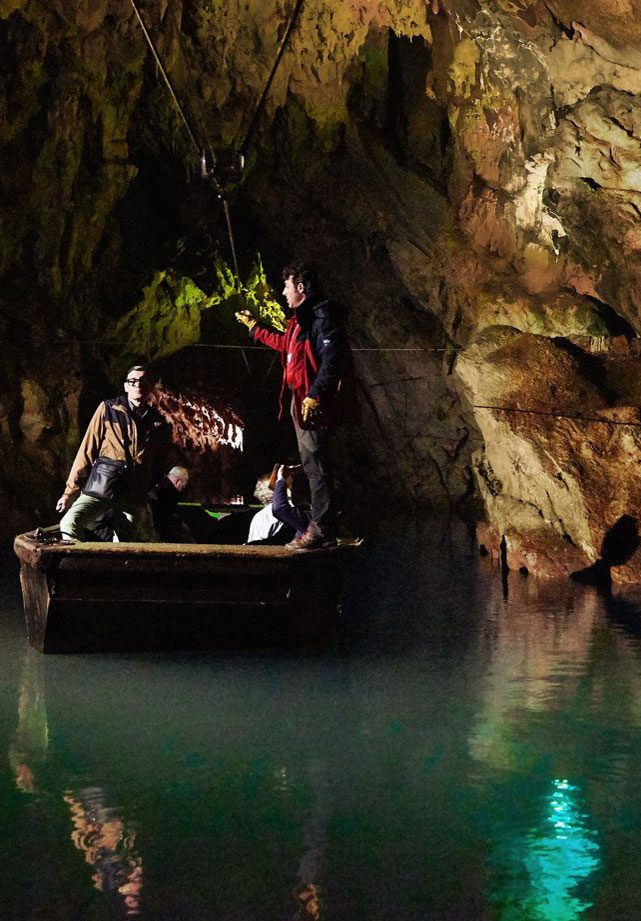 le grotte del cilento