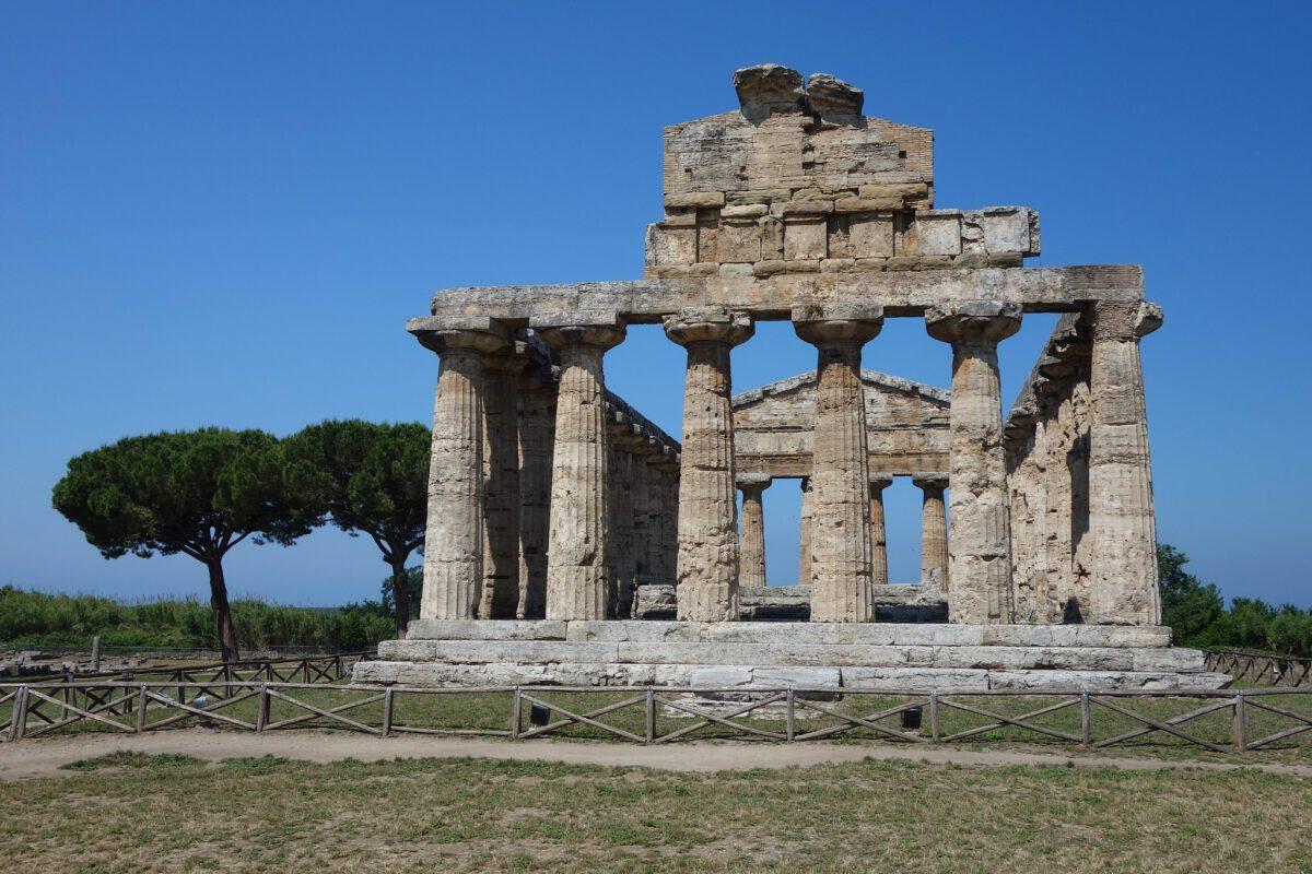 tempio di cerere paestum
