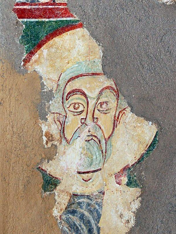Frammento di affresco del Cenobio di San Giovanni Battista