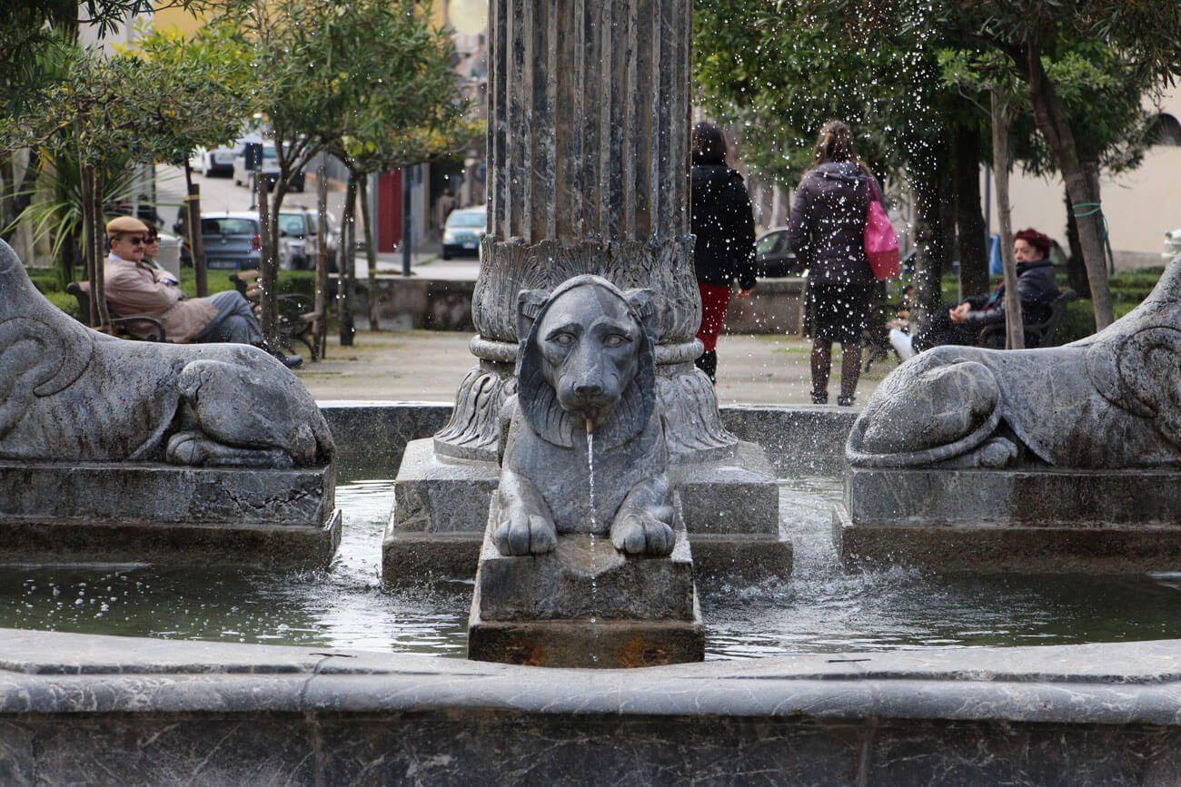 fontana-quattro-leoni-vallo-della-lucania
