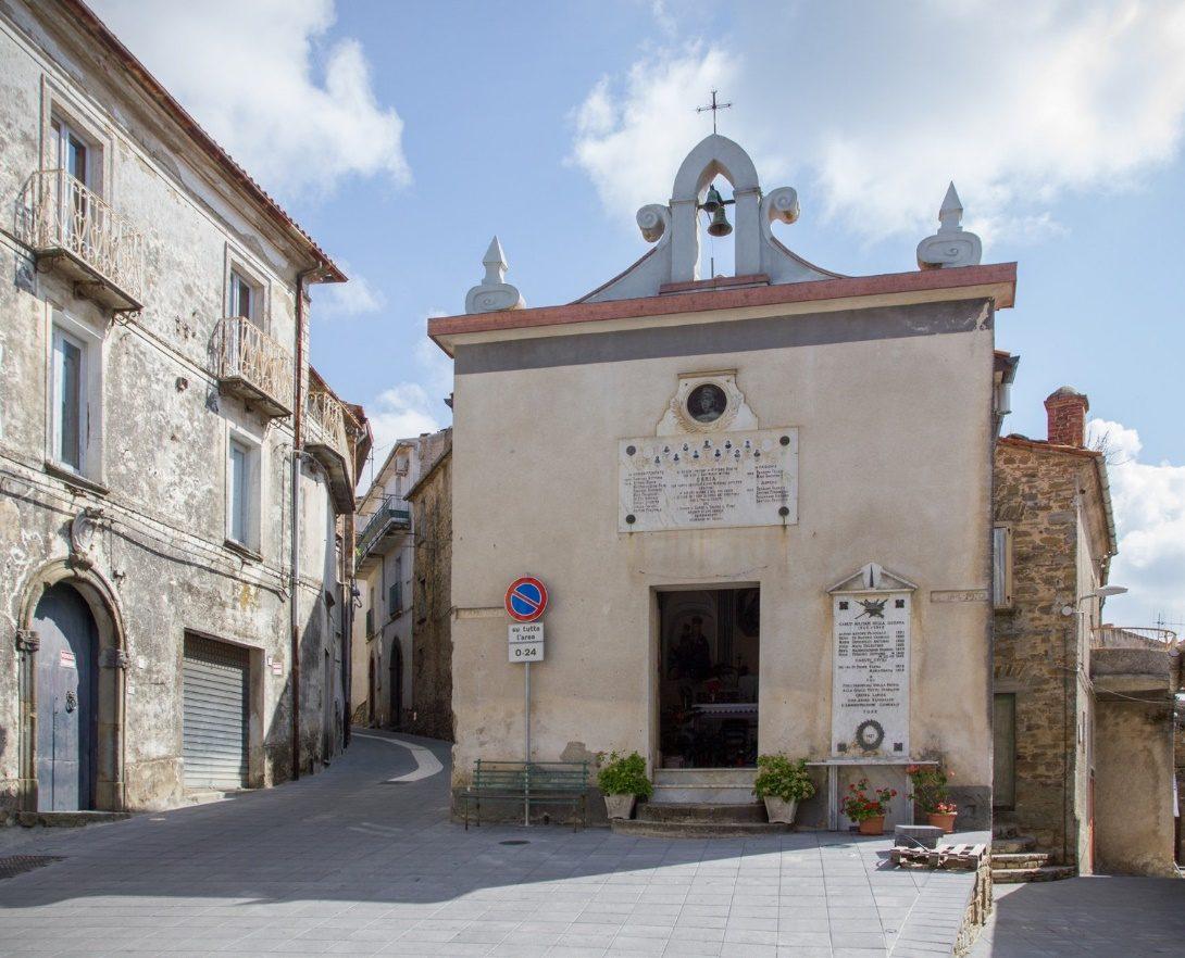 una chiesa di orria