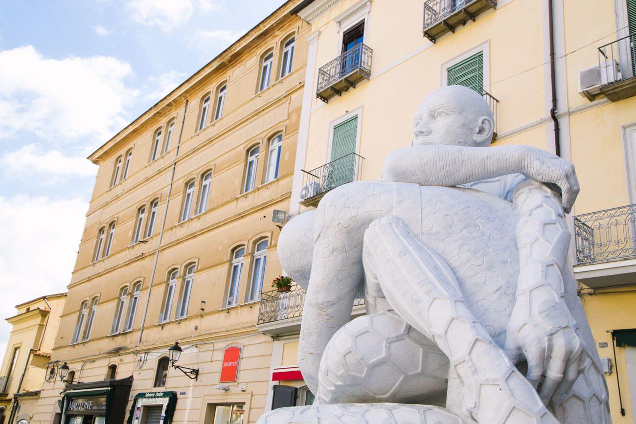 statua leud vallo della lucania