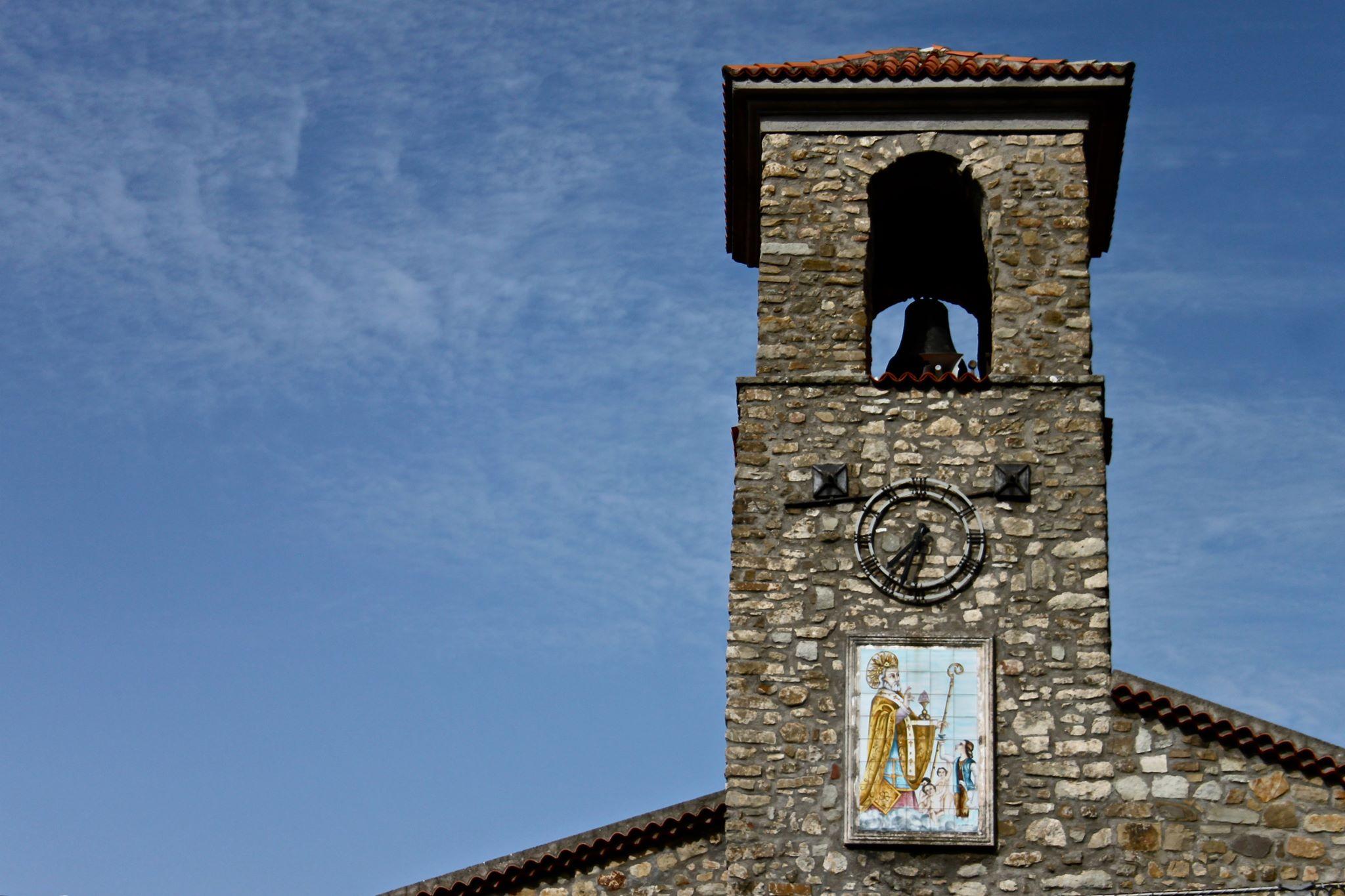 Chiesa di San Nicola (particolare del campanile)